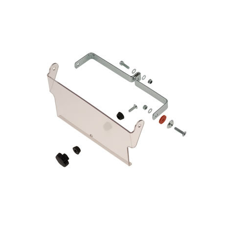 COMPLETE AIR BULKHEAD KIT FOR RADIATOR 400X200