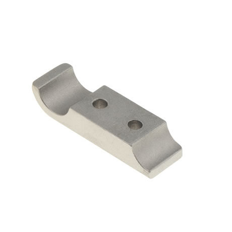 ENGINE MOUNT'S MILLED BRACKET 92X28 MM 2 SCREW